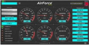 AirForce control panel from FuturEnergy