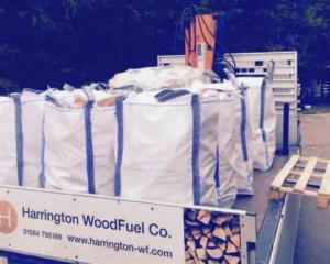 Harrington Woodfuel bags of wood