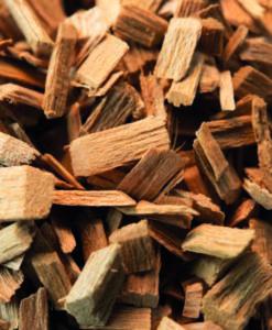 wood cuttings