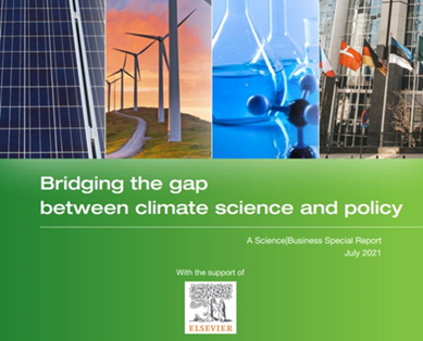 Front cover of Bridging the gap report