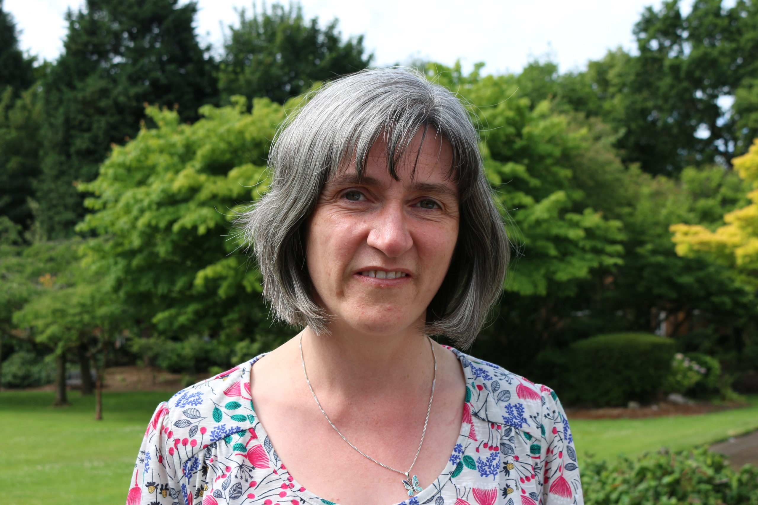 Photo of Patricia Thornley, director of EBRI