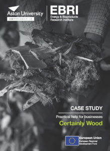 Front cover of Certainly Wood case study
