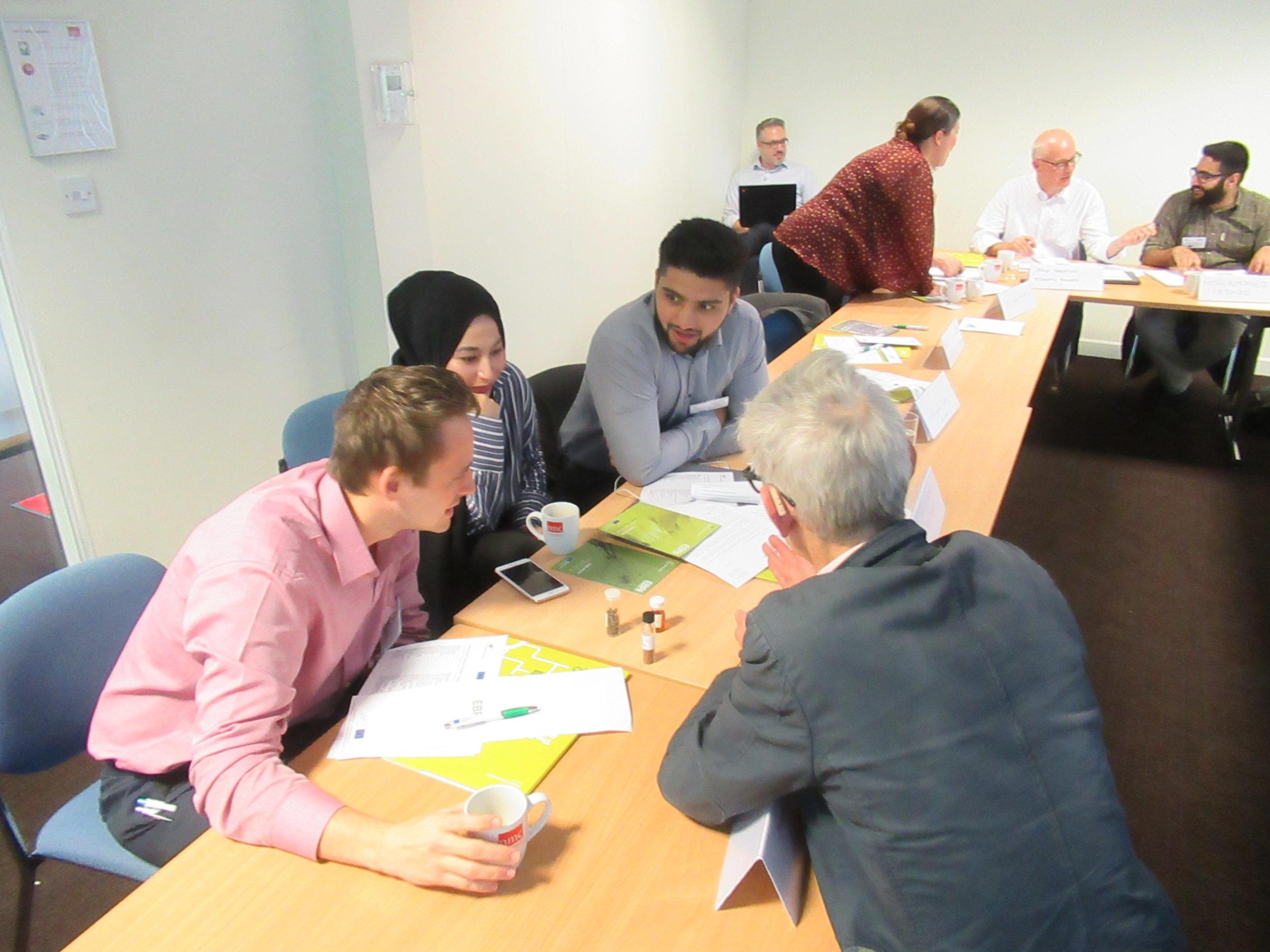 EBRI Masterclass participants